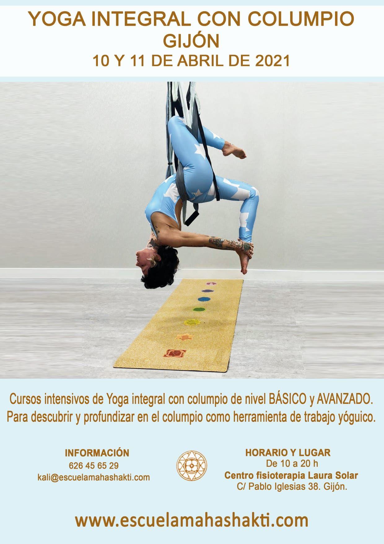 formación yoga con columpio
