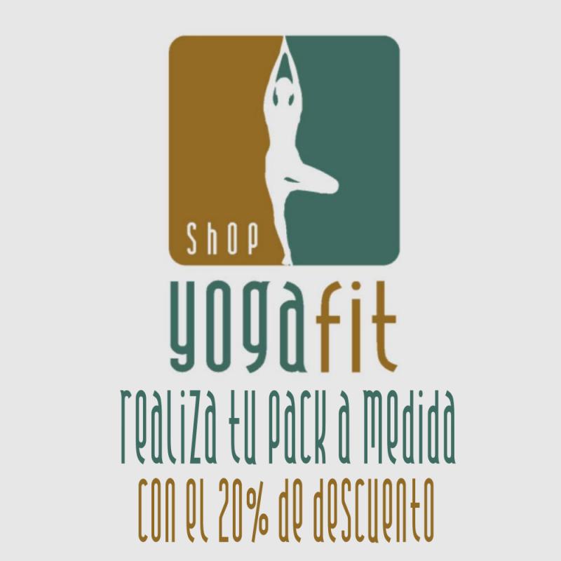 pack de esterilla mas accesorios para la practica de yoga